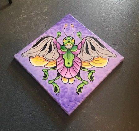 Paddle Bug Print